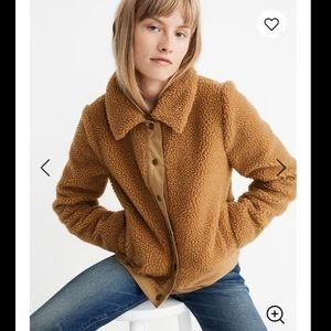 New Madewell Portland fleece jacket